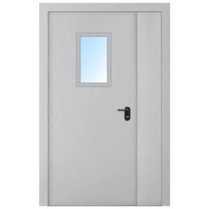 Двері протипожежні металеві ЕІ-30 ДМП-6-СT-2