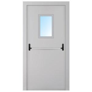 Двері протипожежні металеві ЕІ-30 ДМП-6-СT-AT-1
